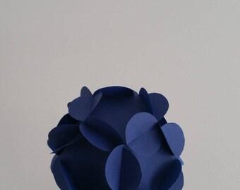 Set of 10 balls 3D ornamental paper (decorating events)