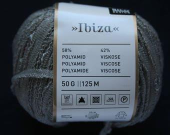 Rico Design Ibiza Fabre 008 grey yarn skein