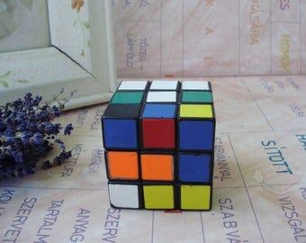 Vintage Hungarian Rubik cube,Logic game