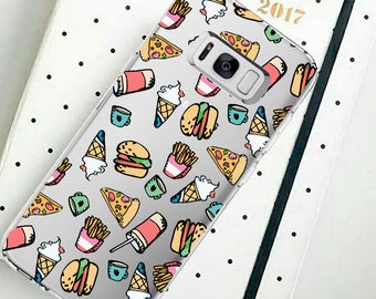 Food on the cover to S8 Galaxy S8 Plus Galaxy S7 edge Galaxy Note 5  Galaxy J7 (J700) Galaxy J5 (J500) J2 (2016) Galaxy J5 (2017