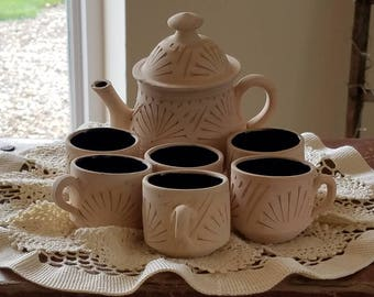Clay & Ceramic Tea/Coffee Set