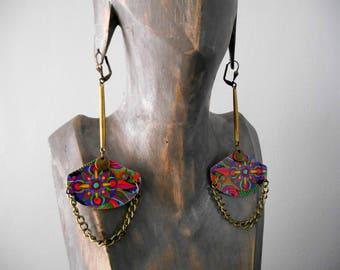 modern boho ethnic earrings