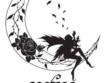 Elvish Moon Fairy • Illustrator Design