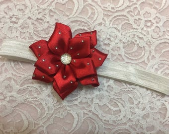 Baby stretchy elastic flower headband