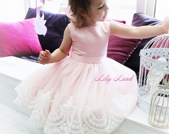 Girl dress pink tutu dress for girls tutu dress for baby tutu dress kids tutu dress toddler girl dress size 1 2 3 4 5 6 7 8 9 10 24 mounth