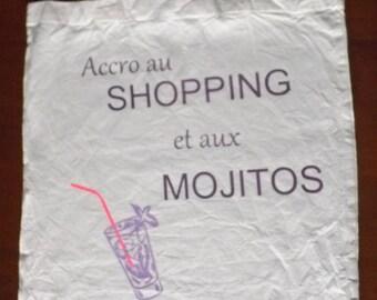 100% cotton shopping bag