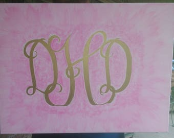 Monogram canvas