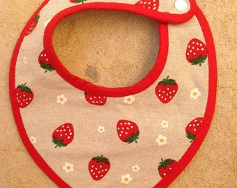 Bandana Terry cotton Strawberry collection