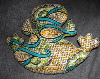 Green Giant Frog blanket or pillow