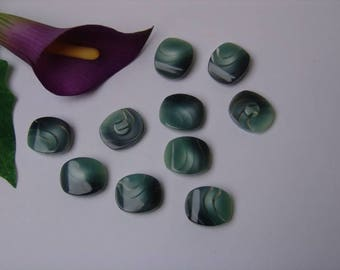 Pearl effect button 18 mm / 22mm - 10