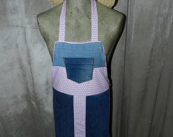 Spirit upcycled jean apron very trendy