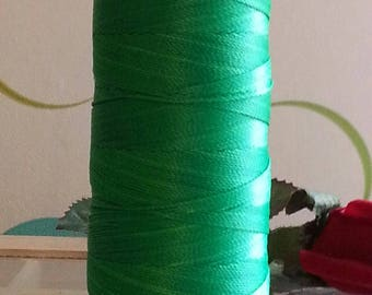 Fils à coudre 12 actions, nylon coil cord, green, 0.6 mm 135 m / spool