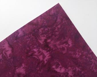 Magenta Watercolor - Custom Print Fabric Felt - 8x11 Sheet - Fabric Felt