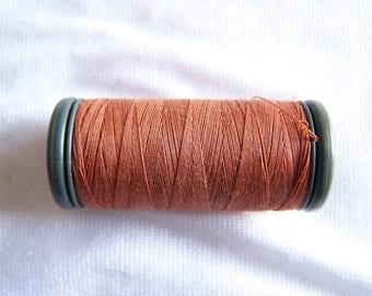 Spool of fils à coudre DMC special machine, rose gold (4341)