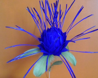 feathers on stem decoration flower wedding or buffet table