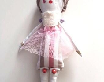 "Doll ""Lilirose-ballerina beads"""