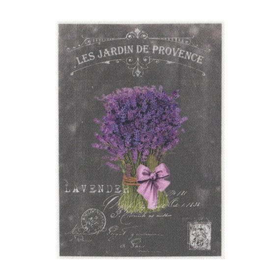 """Applied fusible - Collection """"Lavender background chalk"""" AT404-1"""