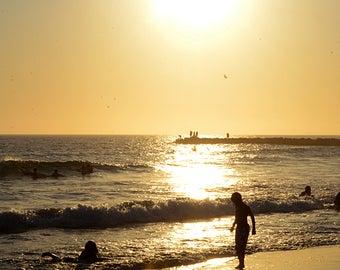 Sunset over Newport Beach