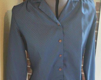 Vintage shirt - 1970s shirt - vintage clothing - vintage women's shirt
