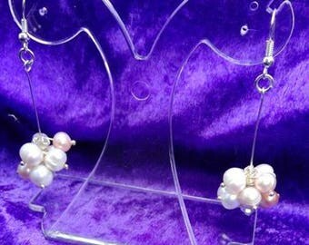 Elegant Freshwater pearl Earring Drops