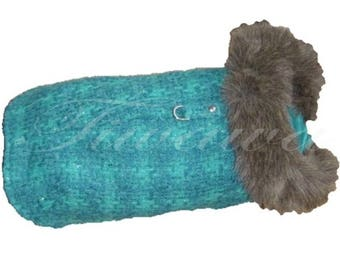 Morgan T24 (S) or (M) T26 coat for small dog - Chihuahua