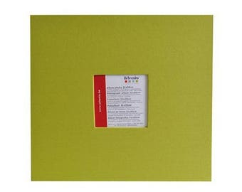 Album photo scrapbooking 30 x 30 cm Vert - Artemio - Ref 11010034 ---------- Jusqu'à épuisement du stock !