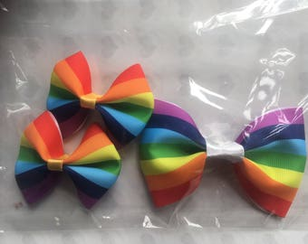 Rainbow bow set