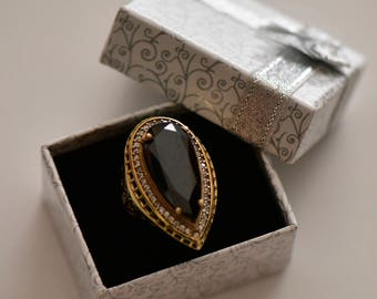 Handmade Turkish Style Ring 925 Sterling Silver