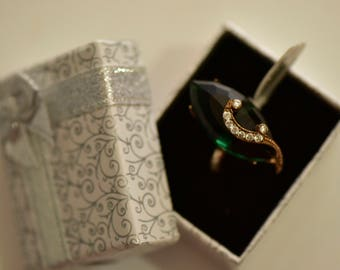 Handmade Turkish Style Ring Sterling Silver