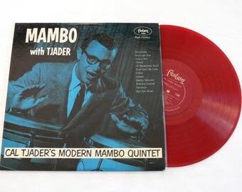 Cal Tjader's Modern Mambo Quintet - Mambo With Tjader - Vintage 1955 Vinyl LP, Latin Jazz Cha Cha Bolero Mambo