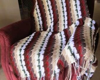 Apached Tears Design Crochet Afghan