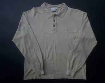 Vintage Trussardi 80s 90s Tshirt Long Sleeve Made in Italy