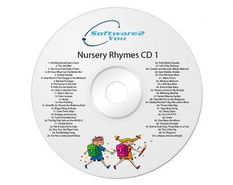 100 KIDS Childrens Singalong Songs – Favourite NURSERY RHYMES 2 X CDs