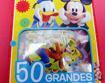 large 50 stickers of Mickey stickers home