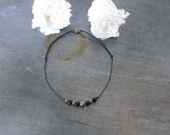 Choker necklace beads