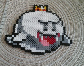 King Boo. pixel art. Mario games