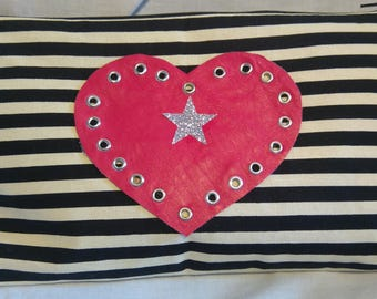 Pink star, from our Lines n Star range