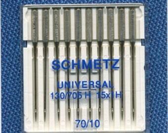 Standard needles n. 70 Schmetz sewing machine - ref 1525