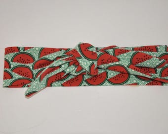 Watermelon headband