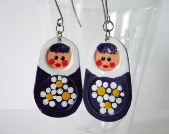 Russian Doll Earrings Aribala1994