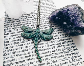 Those Dragon-Fly Days Necklace