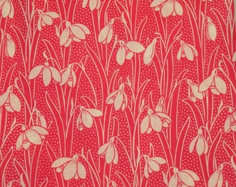 "75cm x 135cm Liberty of London fabric pink - ""Hesketh""."