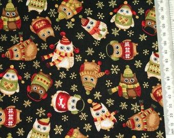Fabric patchwork - Makower - Christmas 2014 - 05