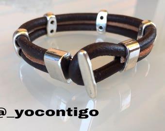 Leather Man Bracelet