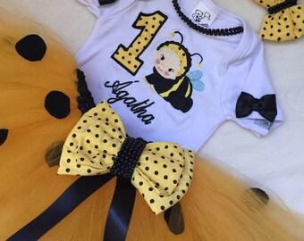 Fantasy tutu birthday theme bee