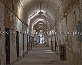 Eastern State Penitentiary- A Long Way Down