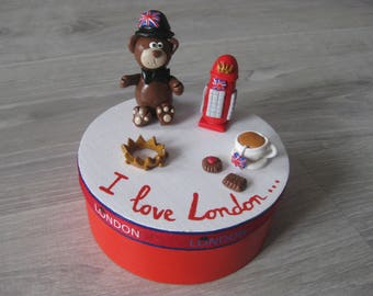 "Box trendy ""I love London"""