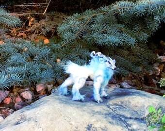 The Frostbringer- Poseable Art Doll