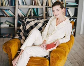 Cotton beige pajama