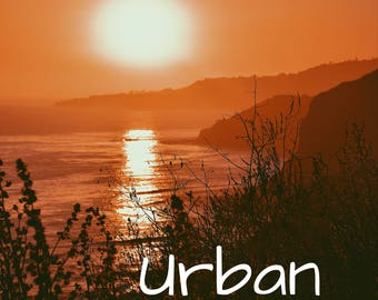 Orange Sun Set Image Download